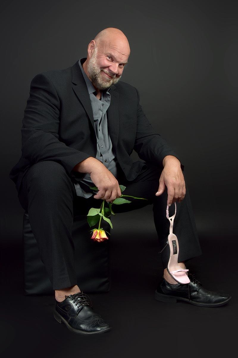 PhinePhoto-Berlin Portrait Schauspieler Jörg Moukaddam